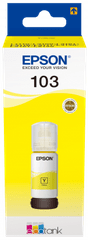 Epson EcoTank 103 črnilo, steklenička, rumena (C13T00S44A)