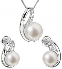 Evolution Group Souprava stříbrných šperků s pravými perlami Pavona 29042.1 stříbro 925/1000
