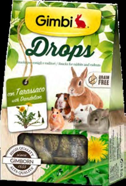 Gimborn Drops pro hlodavce s pampeliskou 50g