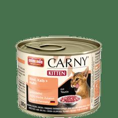 Animonda Carny Junior konzerva pro kočky telecí+kuře 200g