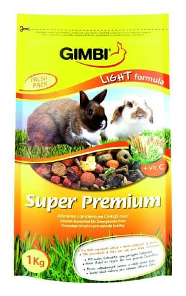 Gimborn Super Premium Light Formula krmivo pro hlodavce 1kg
