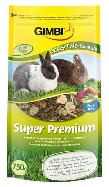 Gimborn Super Premium Sensitive Formula Gimborn krmivo pro hlodavce 750g