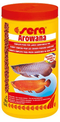 Sera Speciální krmivo pro velké masožravé ryby Arowana 1000ml