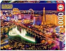 Educa sestavljanka Las Vegas – Neon, 1000 kosov