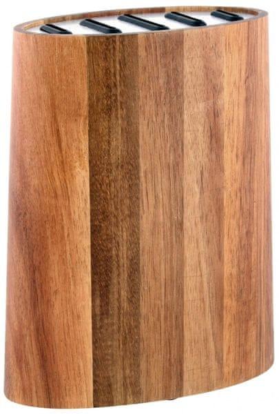 Toro Blok na nože, akátové dřevo + nerez