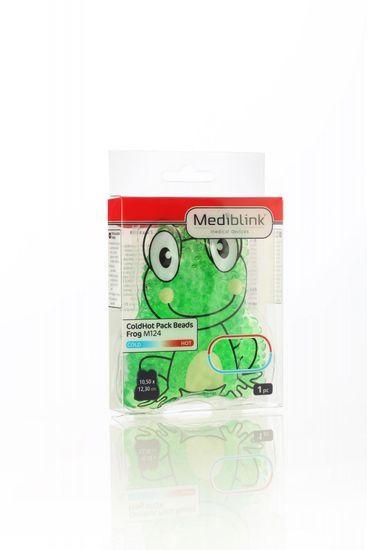 Mediblink hladilno toplotna blazinica, obkladek s kroglicami, žaba, M124