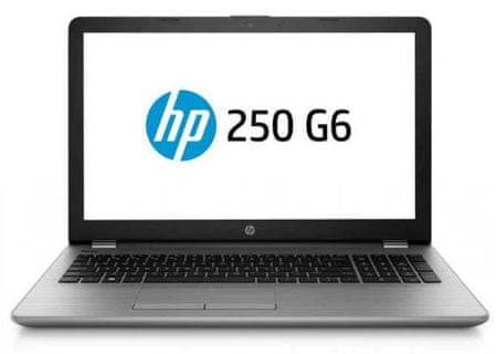 HP prenosnik 250 G6 i3-7020U/8GB/SSD256GB/Radeon520/15,6FHD/FreeDOS