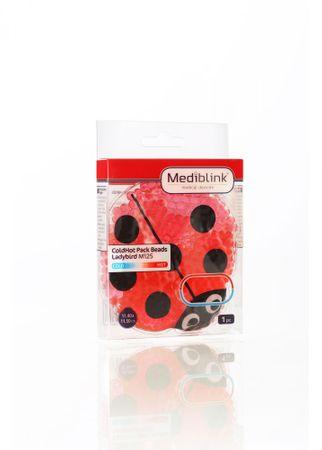 Mediblink hladilno toplotna blazinica s kroglicami, pikapolonica, M125