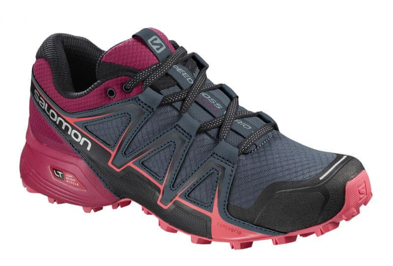 Salomon Speedcross Vario 2 W Stormy Weather/Cerise./Dubarry 40.0
