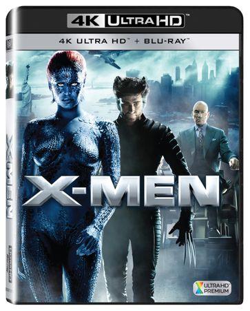 X-Men (2 disky) - Blu-ray + 4K ULTRA HD