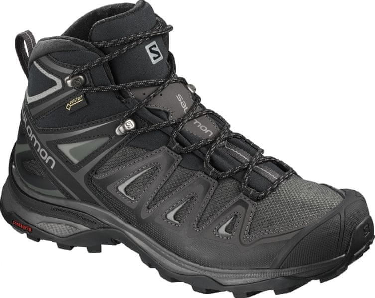Salomon X Ultra 3 Mid Gtx® W Magnet/Black/Monument 40.0