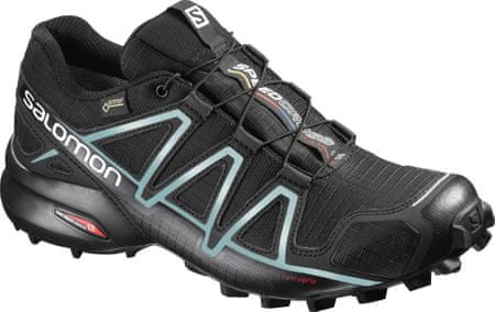 Salomon Speedcross 4 Gtx® W Black Black Metallic Bubble Blue 40.7 ... bf39b5c148
