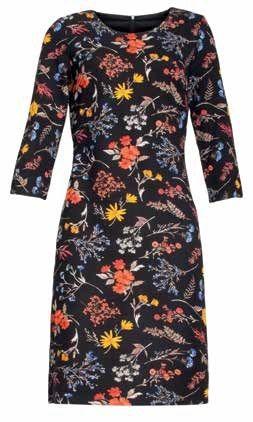 Smashed Lemon Dámske šaty Black/Multi 18889 (Veľkosť S)