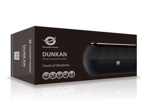 Conceptronic bežični zvučnik Dunkan, crni