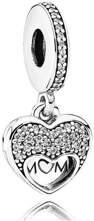 Pandora Nyitott medál Szeretem anyádat 792071CZ ezüst 925/1000