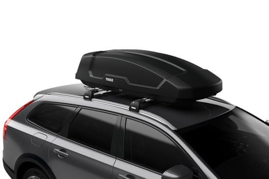 Thule strešni kovček Force XT Aeroskin, M, črn