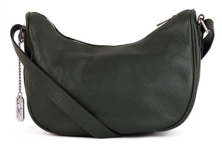 Anna Morellini sötétzöld crossbody táska
