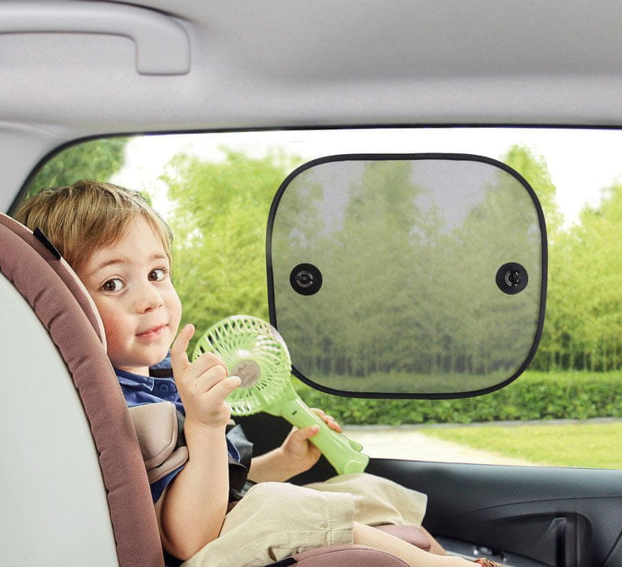BabyDan Sluneční clona do auta, 2ks