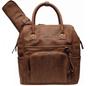 4 - Little Company Pelenkázó hátizsák Riga Perfo cognac