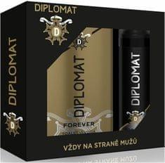 Ostatní Astrid Diplomat Ajándékcsomag Forever Eau Forever Toilette Spray 100 ml + Deo spray 150 ml
