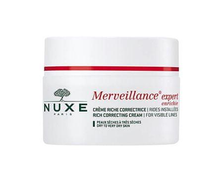 Nuxe krema za suho kožo Merveillance Expert Rich Correcting Cream for Visible Lines, 50 ml