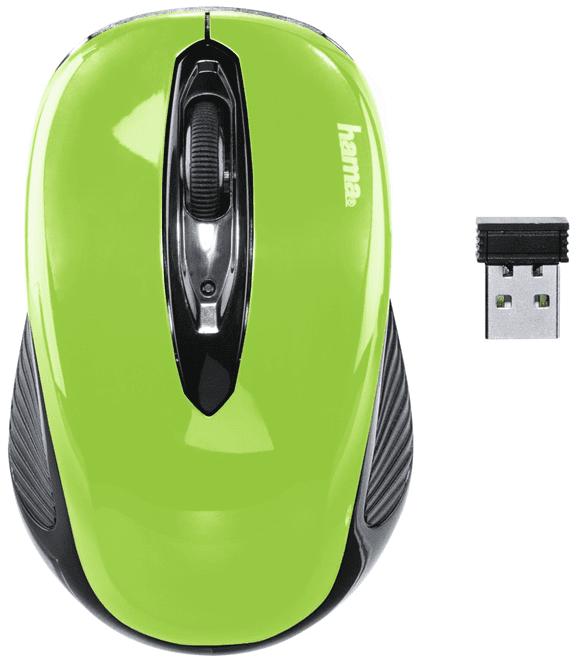 Hama AM-7300, černá/zelená (86567)