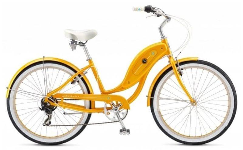 Schwinn® Hollywood 2017 orange cruiser, vel. Uni