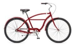 "Schwinn®  Fleet 27,5"" 2017 red cruiser,  vel. Uni"