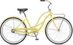 Schwinn®  Slik Chik 2017 yellow cruiser,  vel. Uni