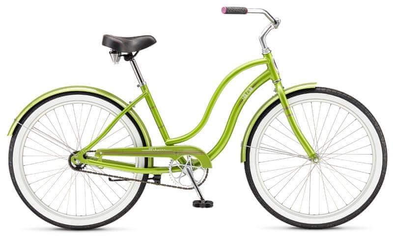 Schwinn® Slik Chik 2017 green cruiser, vel. Uni