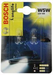 Bosch Žárovka typ W5W, 12V, 5W, Longlife Daytime