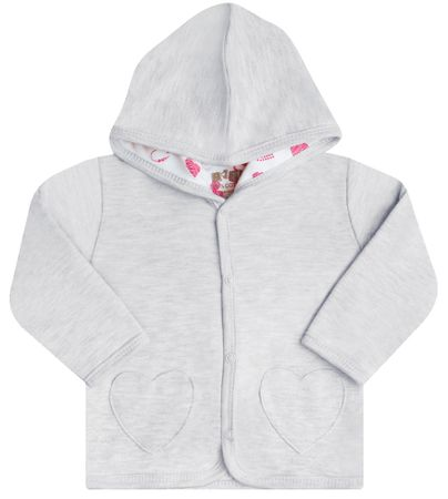 Nini jakna za djevojčice, 56, siva