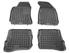 REZAW-PLAST Gumové koberce, sada 4 ks (2x přední, 2x zadní), VW Passat B5 1996-2005