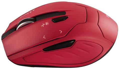HAMA mysz Milano, czerwona (53943)
