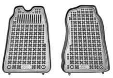 REZAW-PLAST Gumové koberce, sada 2 ks (2x přední), Ford Transit z let 2000-2006 a 2006-2013
