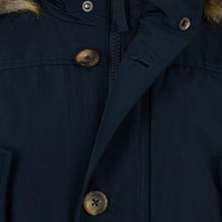 Mustang férfi kabát Padded Parka M sötétkék  a35ede417f