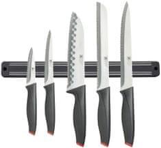 Amefa Sada 5 ks nožů s magnetickou lištou na nože Laser