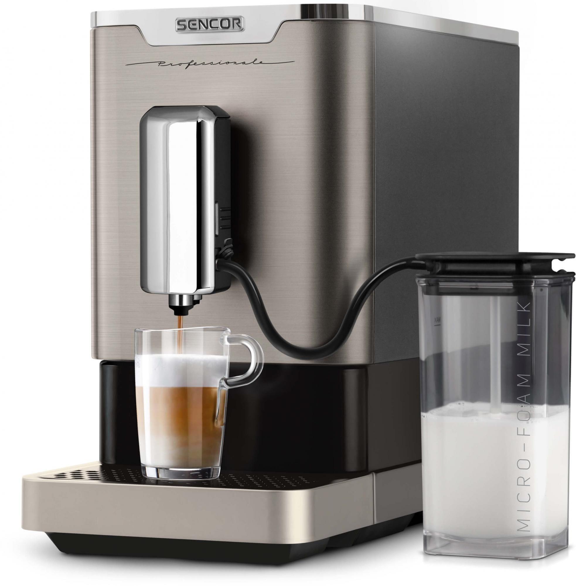 Sencor SES 9020NP kávéfőző italok
