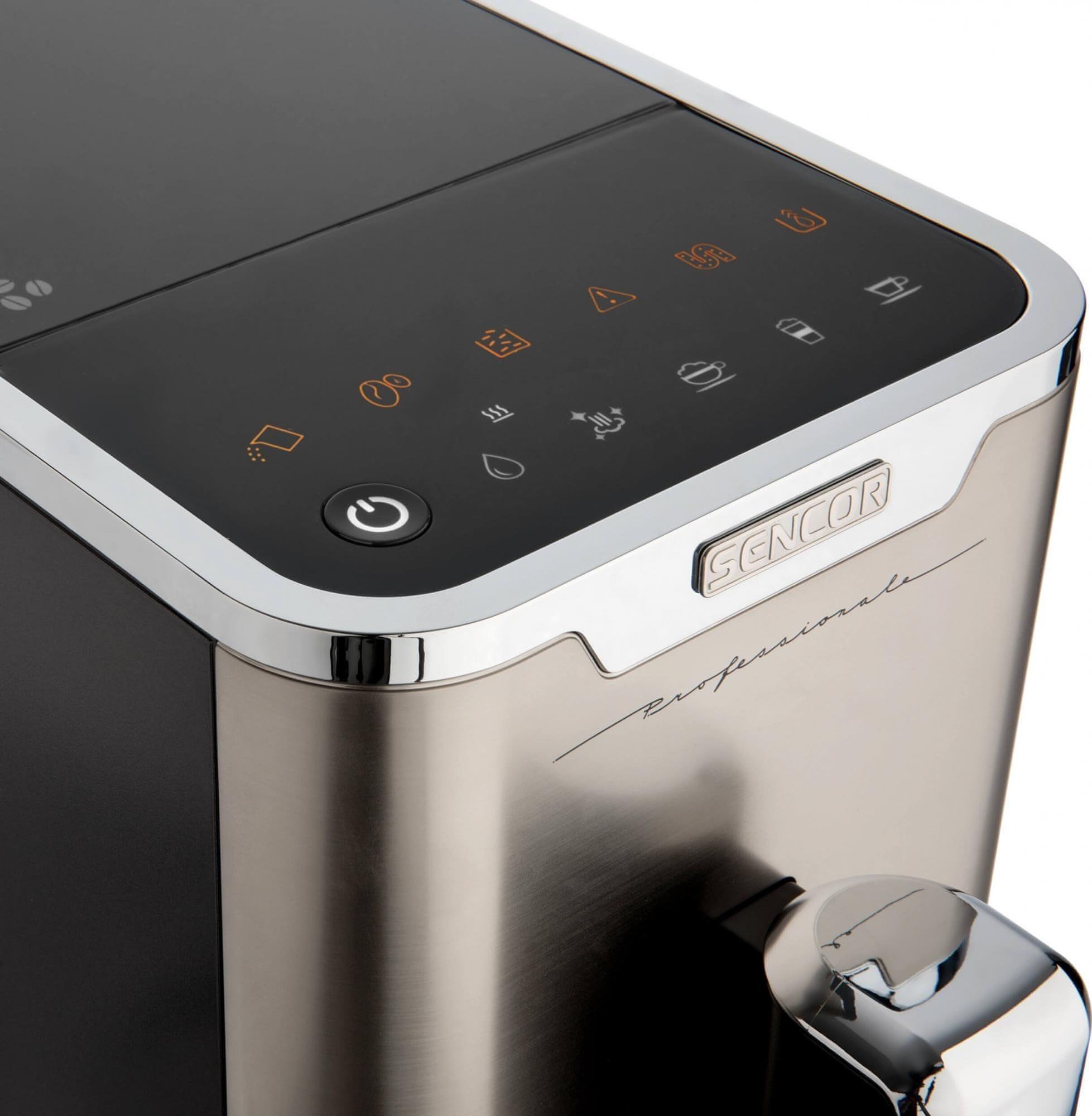 Sencor SES 9020NP kávéfőző programok indítása