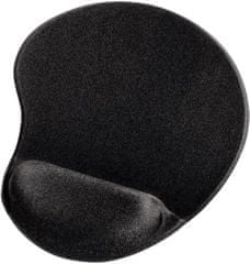 Hama ergonomikus egérpad, fekete (54777)