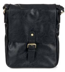 Bobby Black moška torbica, črna