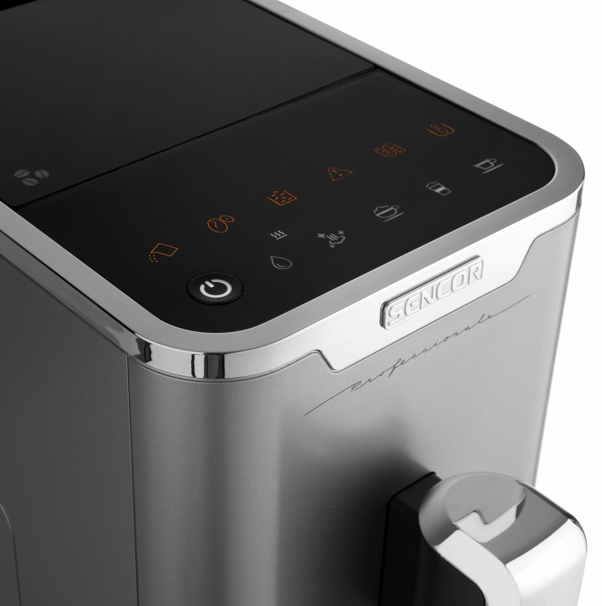 Kávovar Sencor SES 9010CH spuštění programu
