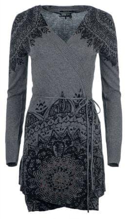 Desigual sweter damski Electra XS szary