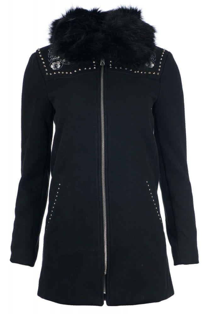 Desigual dámský kabát Collin 40 černá
