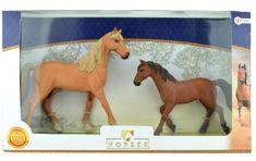 Teddies zestaw koni 2 szt. 17cm