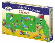 DETOA Dinoszauruszok mágneses puzzle