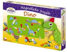 Detoa Magnetické puzzle Dinosauři