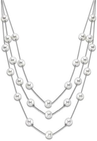 Lotus Style Náhrdelník s levitujícími perličkami LS1998-1/1