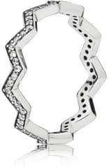 Pandora Stylový stříbrný prsten 197751CZ stříbro 925/1000