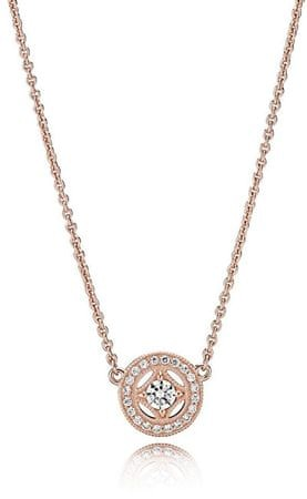 Pandora Luxus bronz nyaklánc 380523CZ-45 ezüst 925/1000
